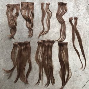 Barefoot Blonde Accessories - Barefoot Blonde brown sugar hair extensions